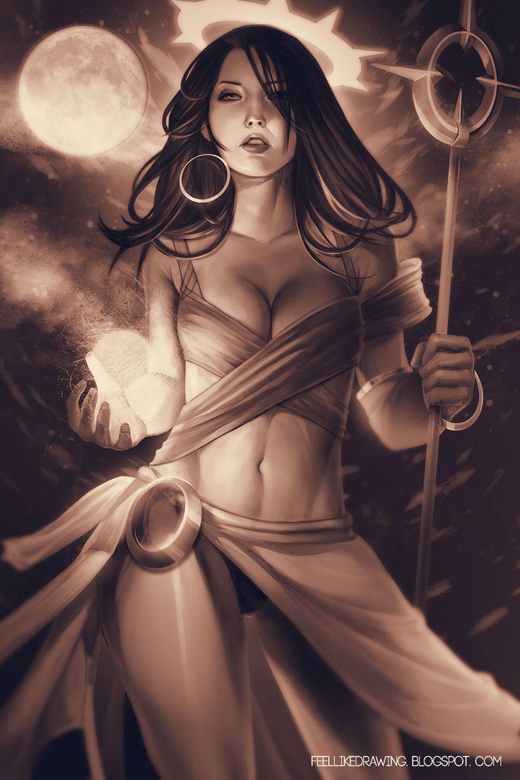 Resultado de imagen para sheep mage fantasy art guerreras de zodiac mage warrior by kasia slupecka voltagebd Images