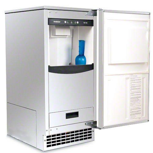 Makes Sonic Type Ice Scotsman 130 Lb Nugget Ice Machine W Pump Drain Nu130pa 1a Ice Machine Remodel Scotsman