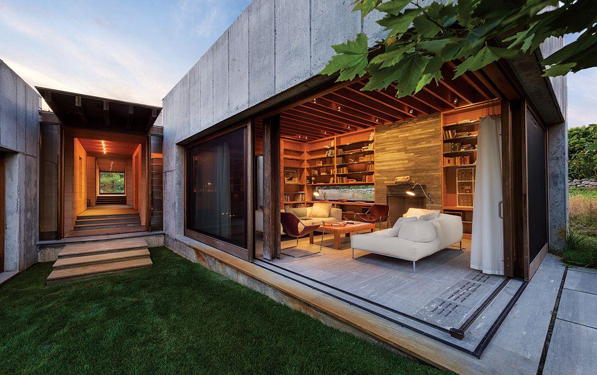 modern house boston