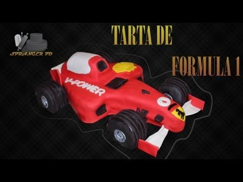 This is a tutorial on make a ferrari racecar from fondant to ...