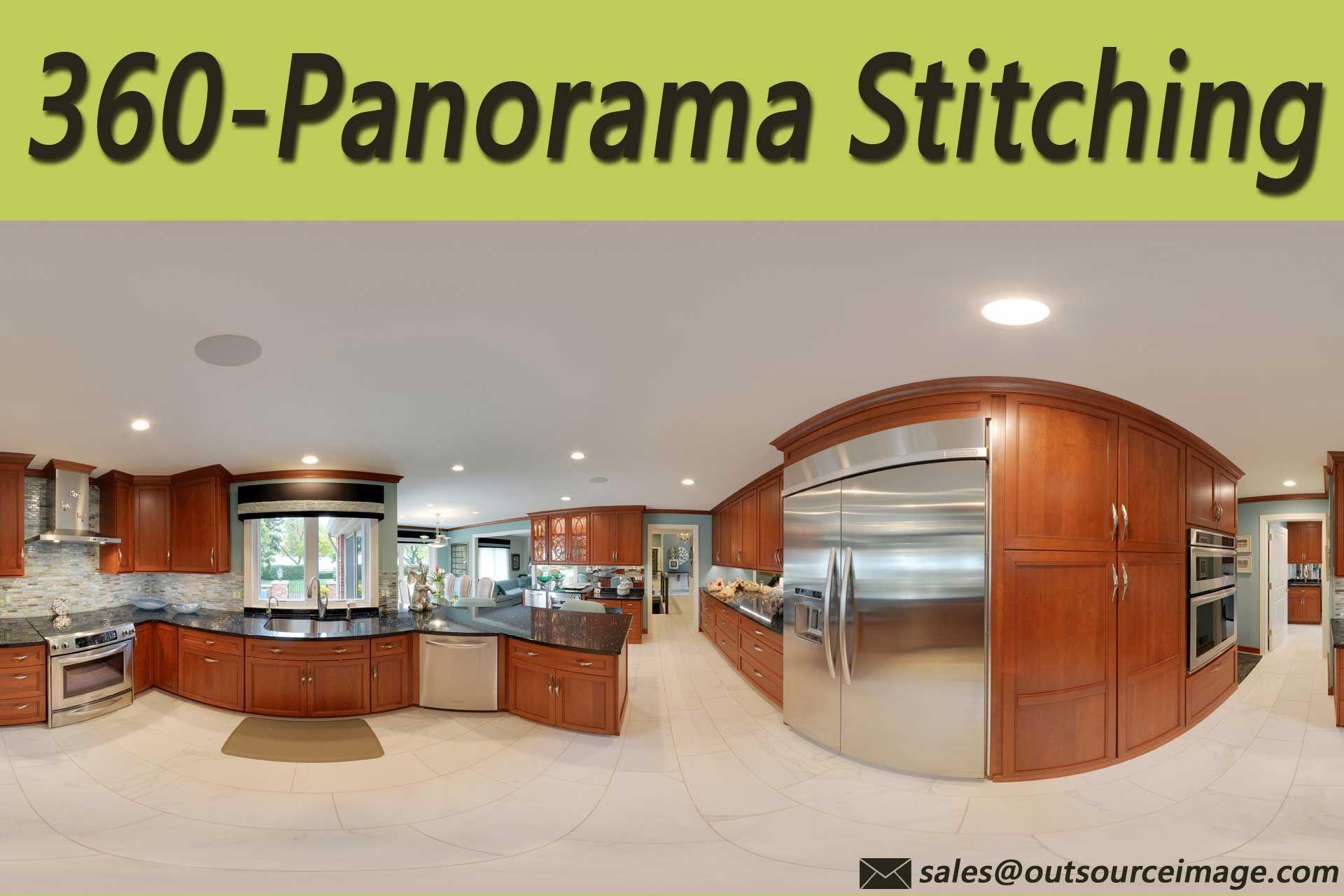 360-degree panorama stitching to photography  Get