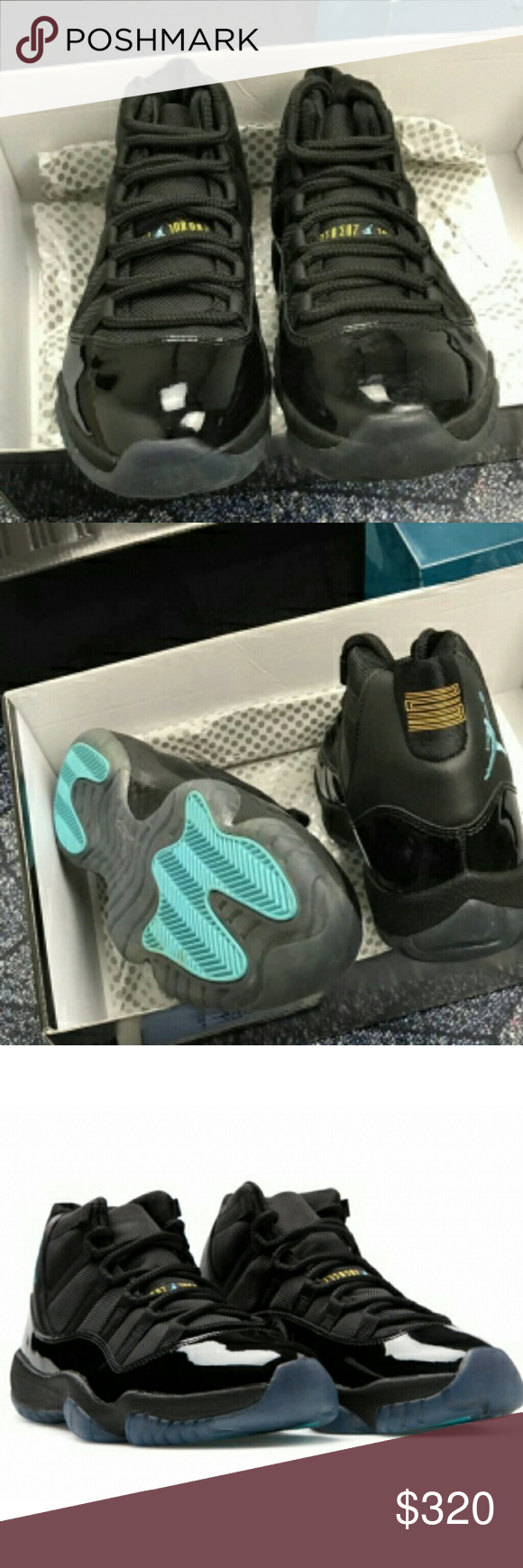 6cf6da11b93a39 Air Jordan 11 Gamma Blue 100% Authentic with Box and Receipt Shipping can  take 3-7days or longer cuz holiday Hit me up No returns or refunds or ...