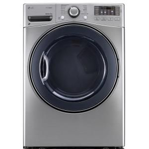 Lg Electronics 7 4 Cu Ft Electric Dryer With Steam In Graphite Steel Dlex3570v The Home Depot Electric Dryers Gas Dryer Steam Dryer