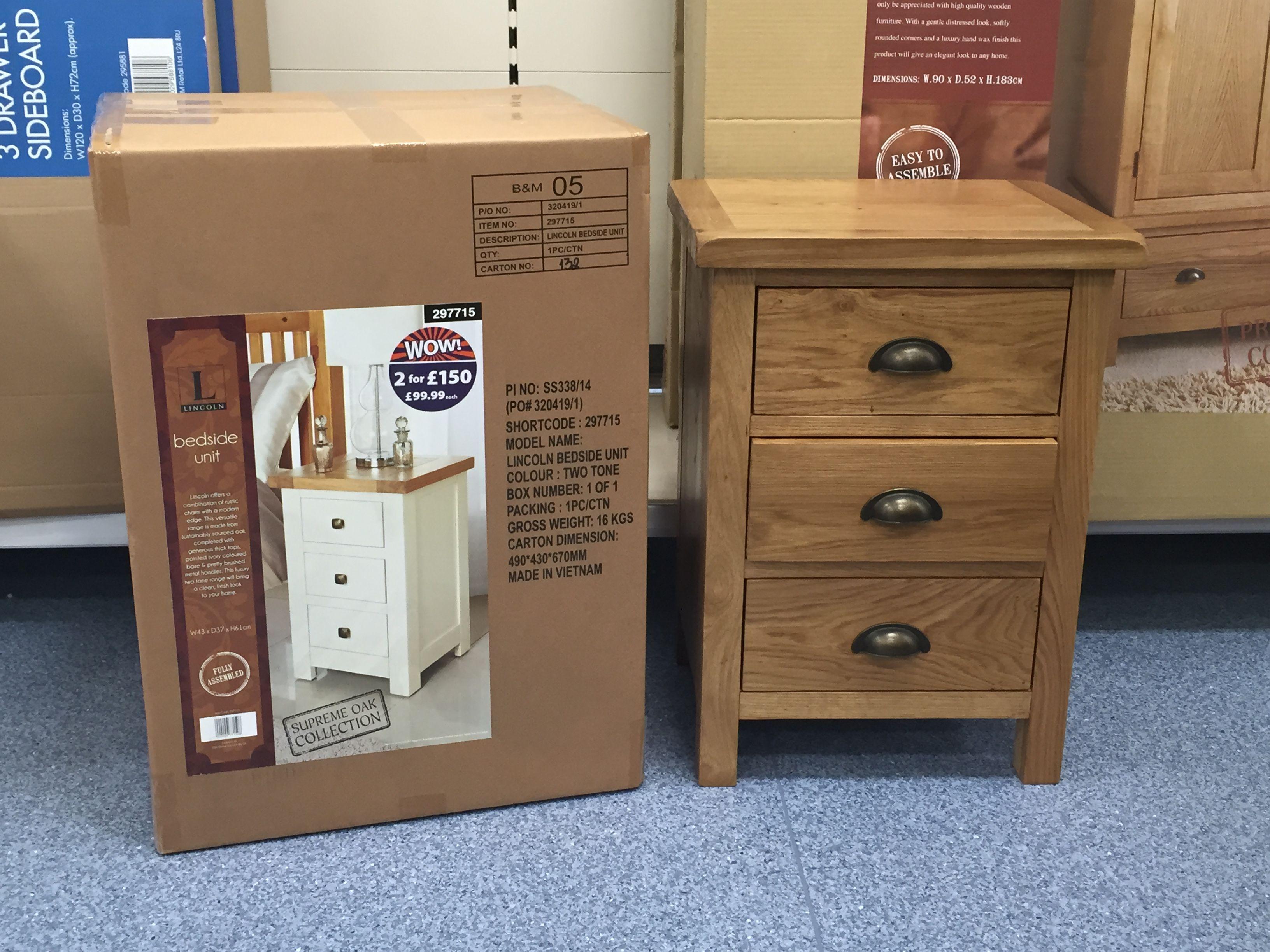 Bedside table B&M   Cheap furniture uk, Furniture, Cheap ...