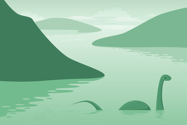 7 Proposed Explanations For The Loch Ness Monster Loch Ness Monster Lake Monsters Monster Illustration