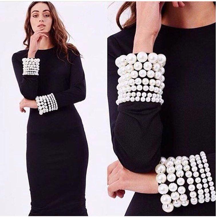 Pin On Dress Black