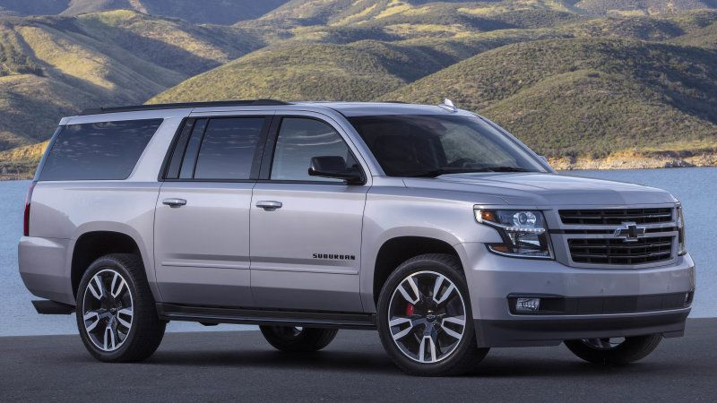 2019 Chevy Suburban Rst Performance Package Revealed Chevrolet