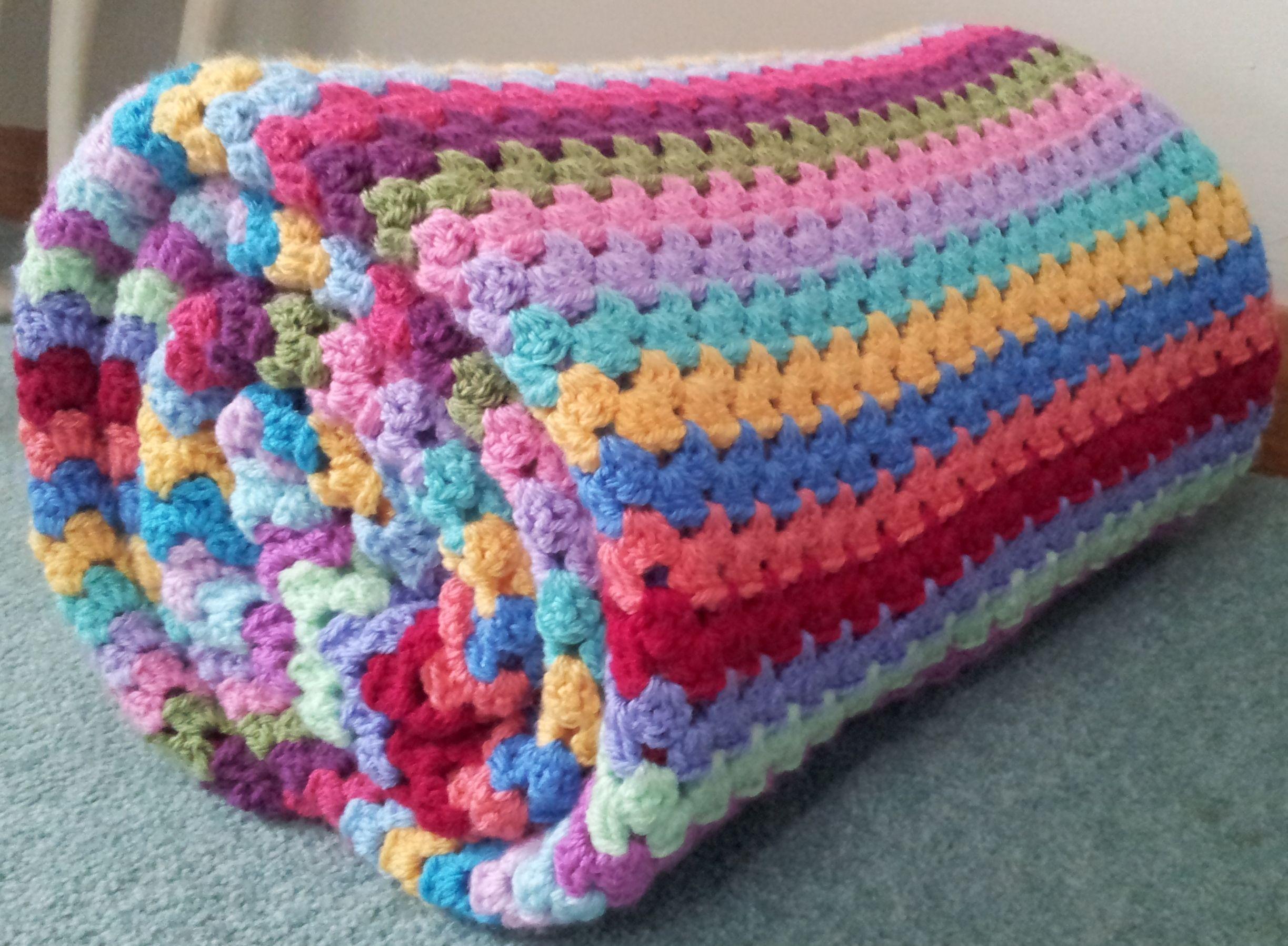 Granny Stripe Blanket Pattern