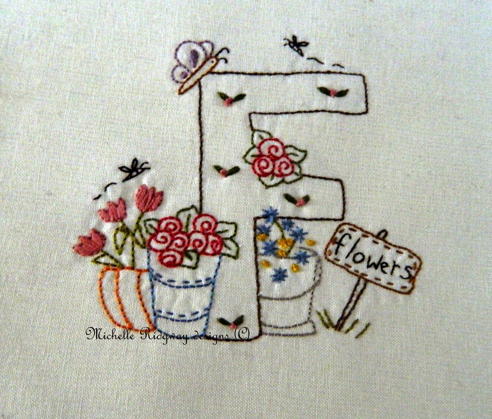 Michelle Ridgway: A Little Easter Freebie | Embroidery & Stitchery ...