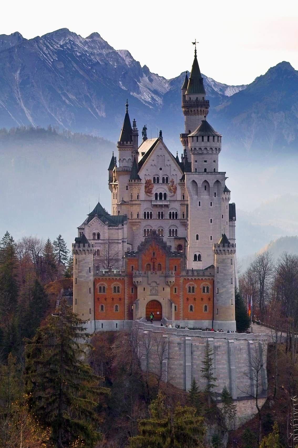 Germanys Fairytale Castle Burgen Und Schlosser Verwunschene Schlosser Schloss Neuschwanstein