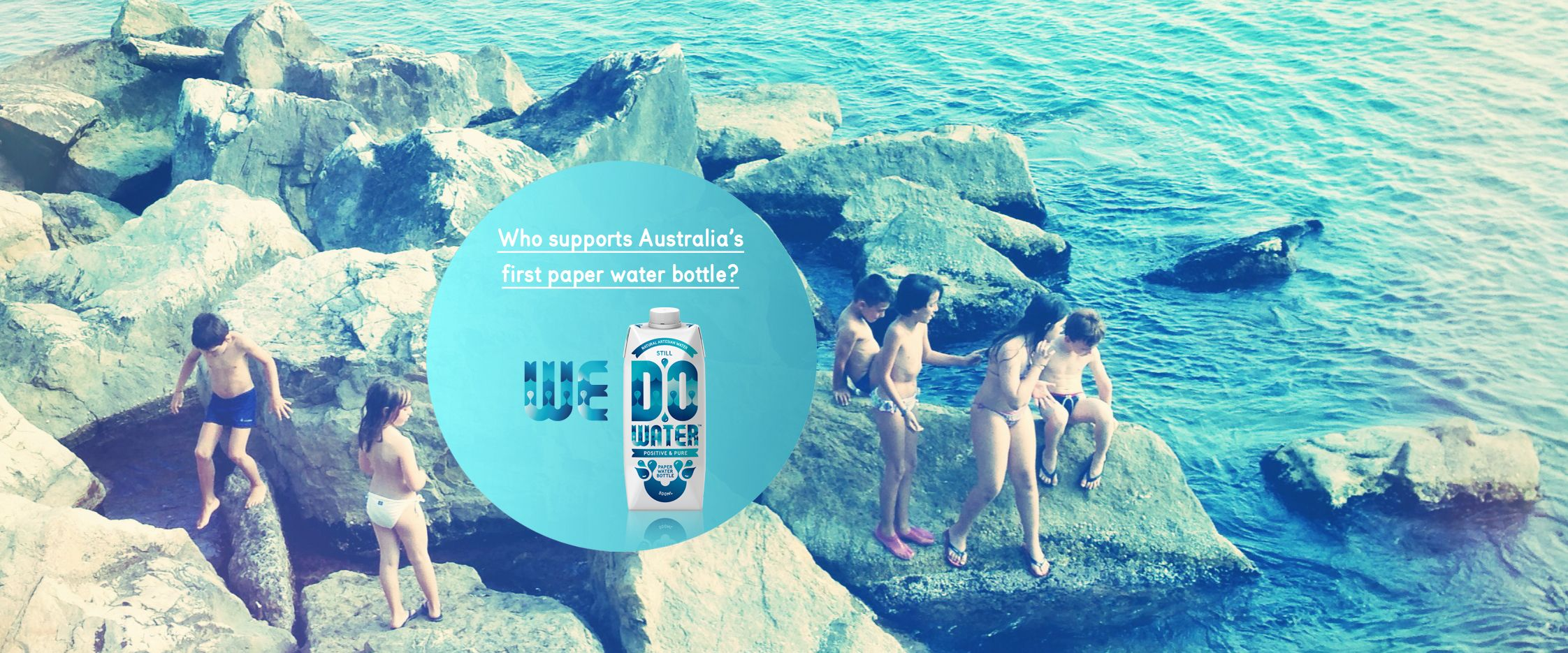 Do you support australias first paper water bottle i_do