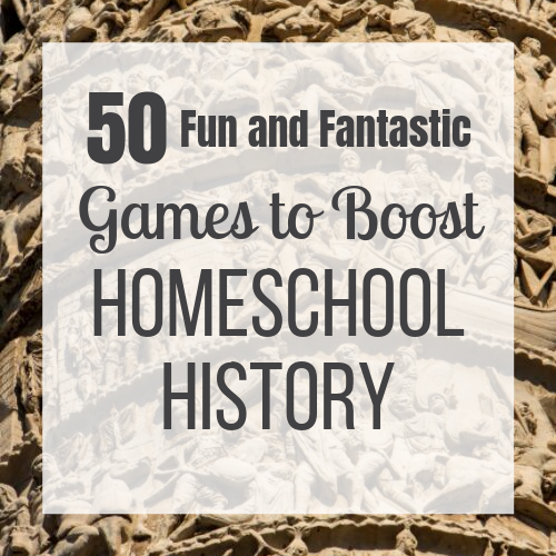 Photo of 50 Fun and Fantastic Homeschool History Games to Spark Curiosity