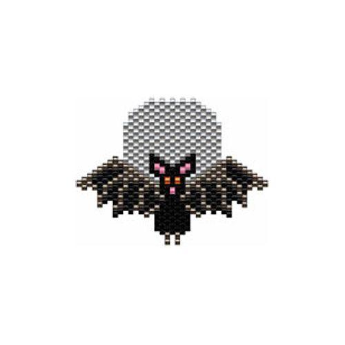Bat Beaded Earring Pattern | Bead-Patterns.com