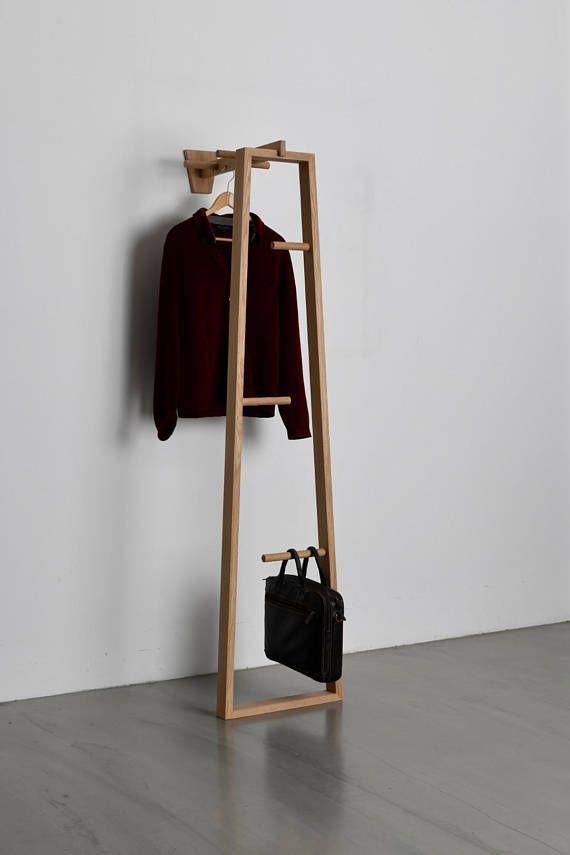 TB.13 Coat Stand, Garderobenständer, Valet Stand, Garderobe, Kleiderstander, Flur möbel Che…