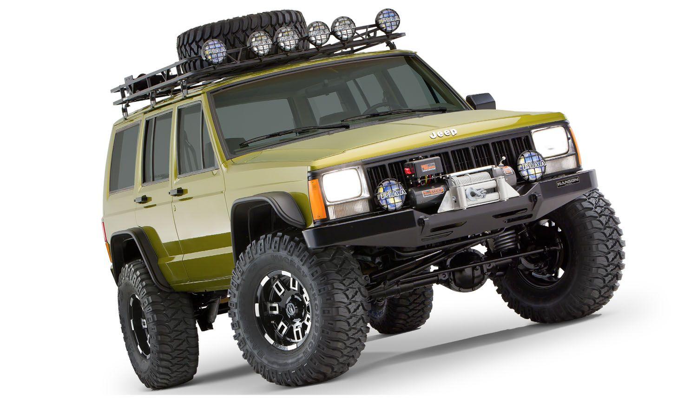 Bushwacker Flat Style Fender Flare Jeep Cherokee Jeep Cherokee Xj Jeep Cherokee 4x4