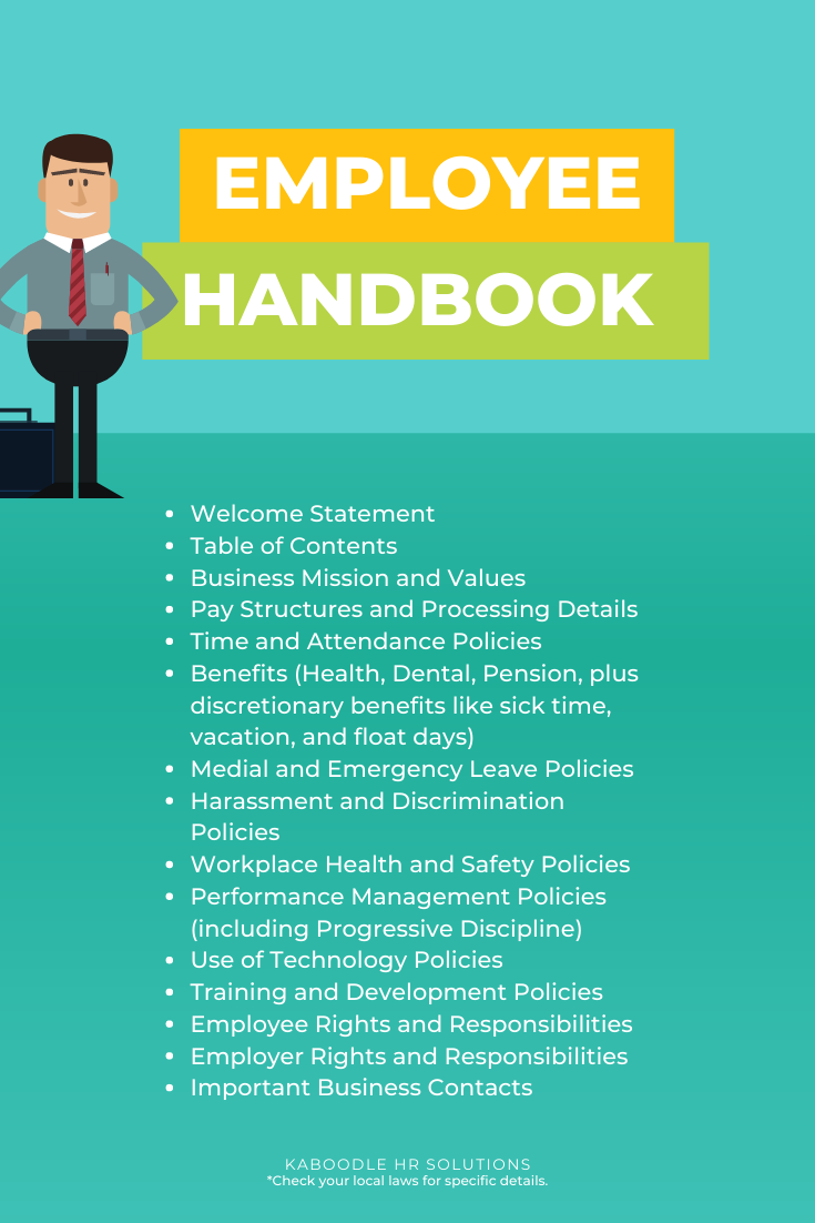 Employee Handbooks For Small Businesses Managing Hr Human Resources Smallbiz Hrtips Smallbusiness Employee Handbook Human Resources Human Resources Jobs