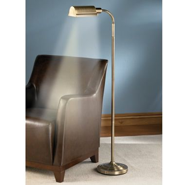 The Cordless Reading Lamp Hammacher Schlemmer 200 Out Of Stock Until 2015 Cool Floor Lamps Reading Lamp Floor Floor Lamp