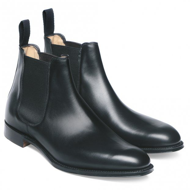 Cheaney Threadneedle | Mens Black Chelsea Boot | Made in England ...