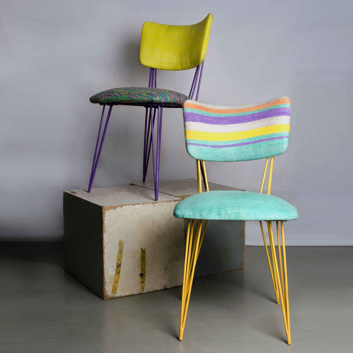 Reused Furniture grammy's collection | reform studio (cairo, egypt) | the chairs