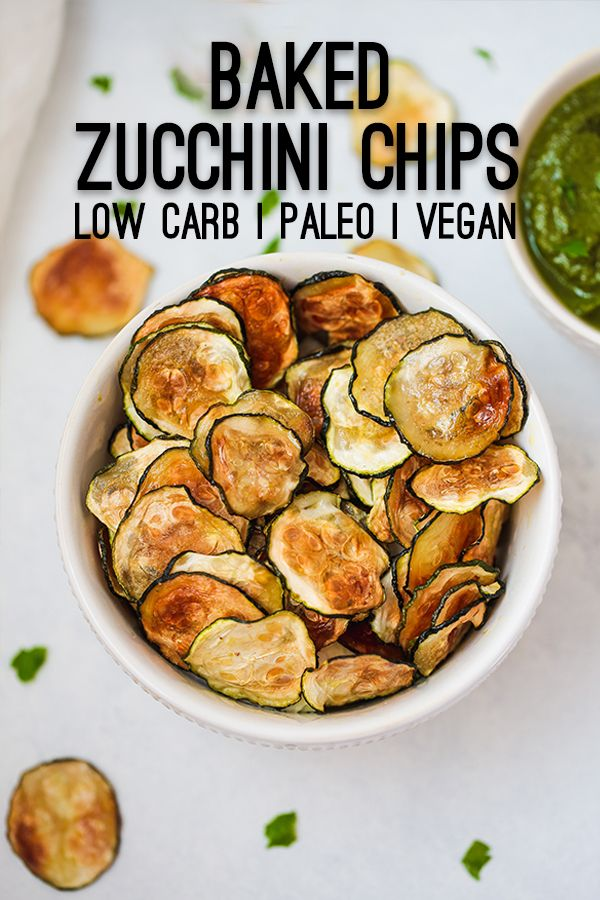 Photo of Oven Baked Zucchini Chips (Paleo, AIP, Vegan, No-cheese) – Unbound Wellness
