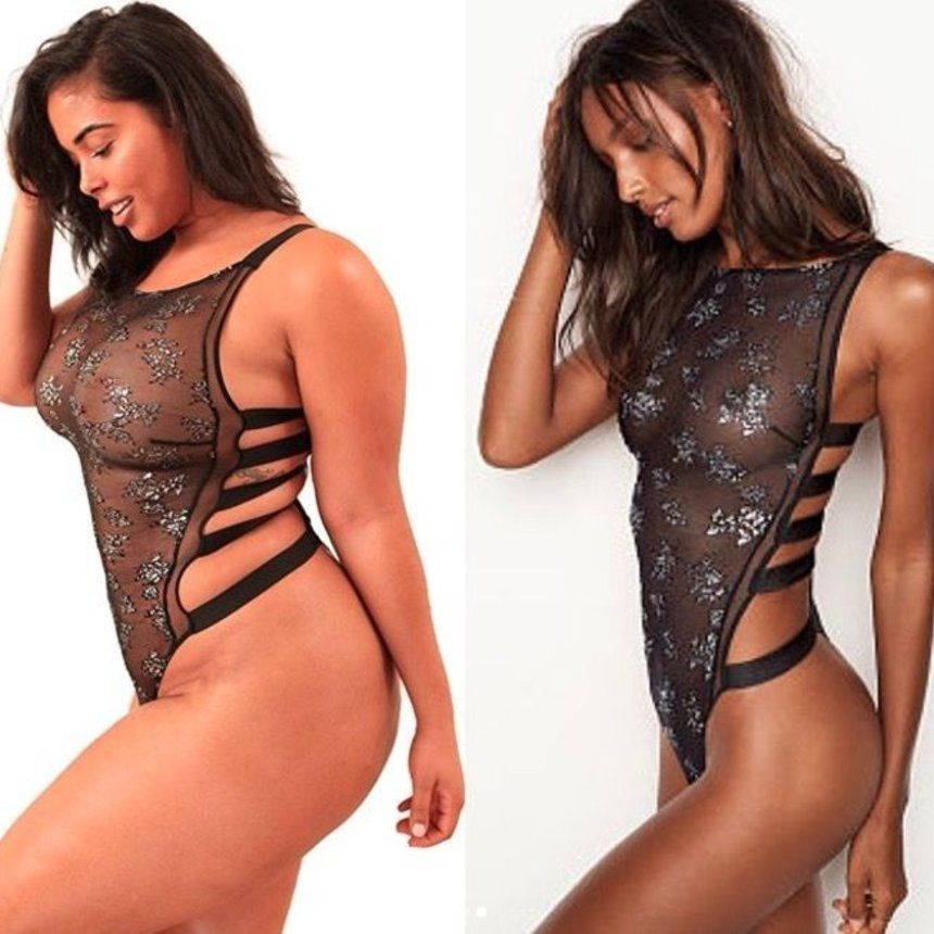 0d966514294af Curvy Model Recreates Victoria s Secret Ads—And Absolutely Kills It ...