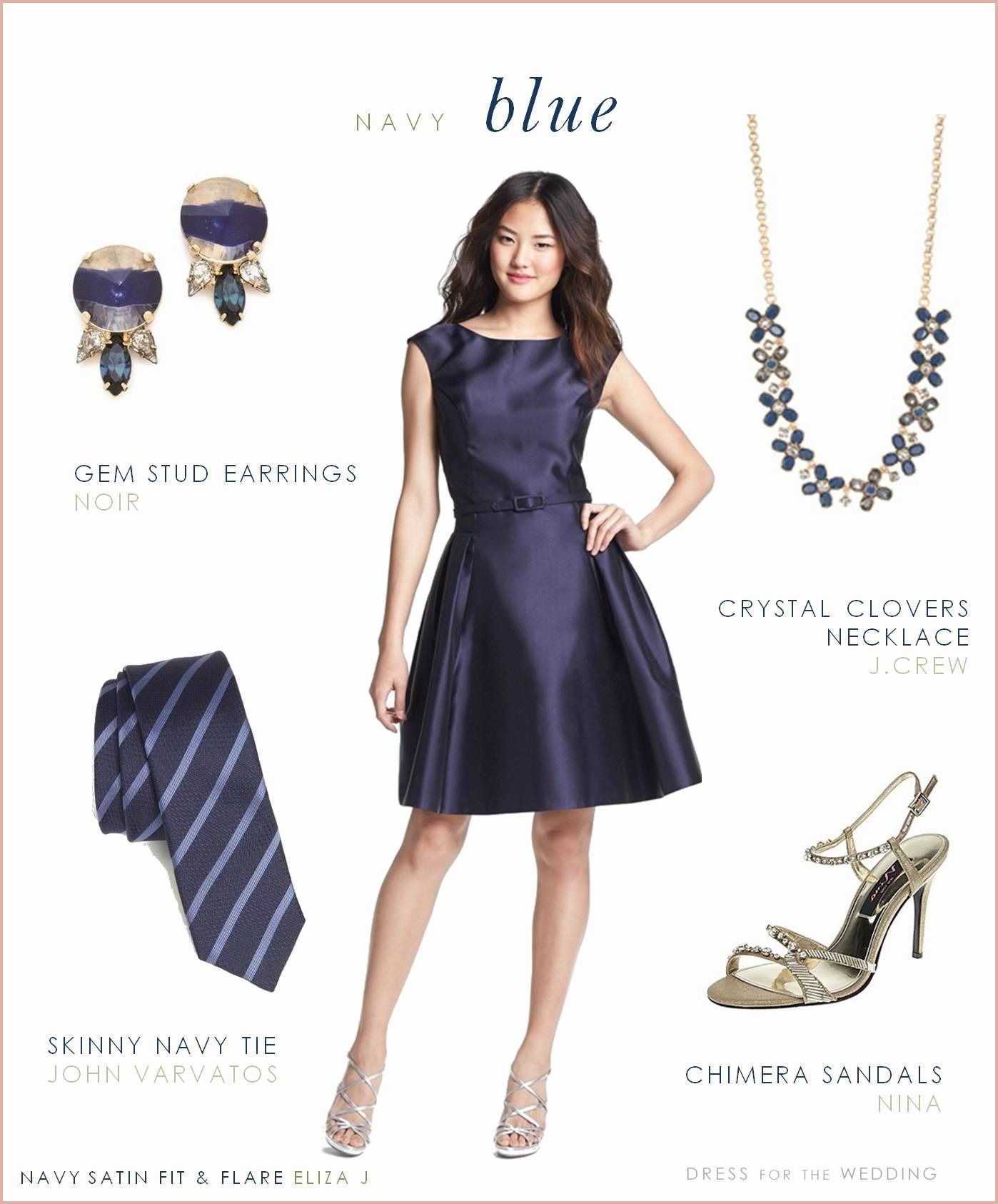 14 Stunning How To Accessorize A Navy Blue Dress For A Wedding [ 1686 x 1398 Pixel ]