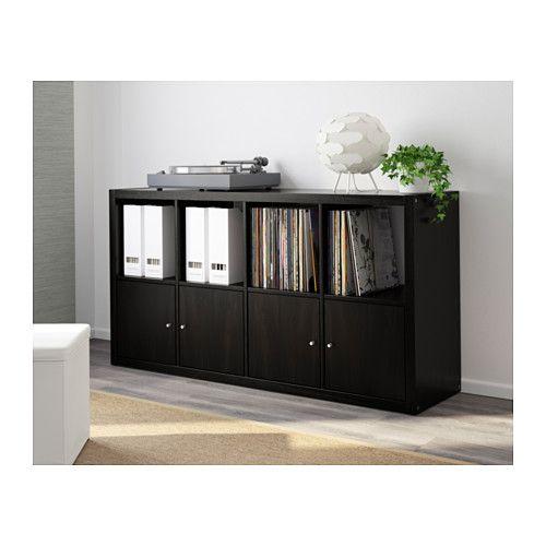 KALLAX Hylly - mustanruskea - IKEA
