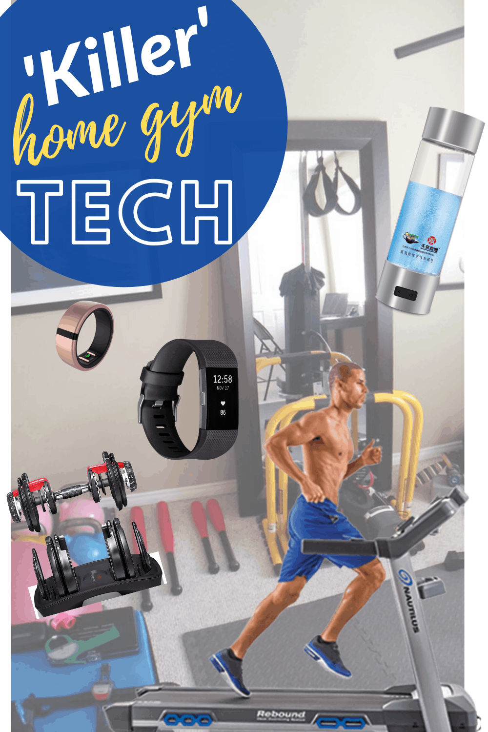 21 Hot Fitness Technology Products To Pump You Up In 2021 Workout Technology Fitness Technology Biking Workout