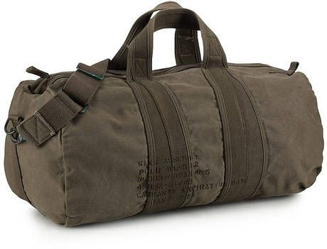 d4a7615078 Polo Ralph Lauren Canvas Barrel Duffel Bag in Brown for Men (blue ...