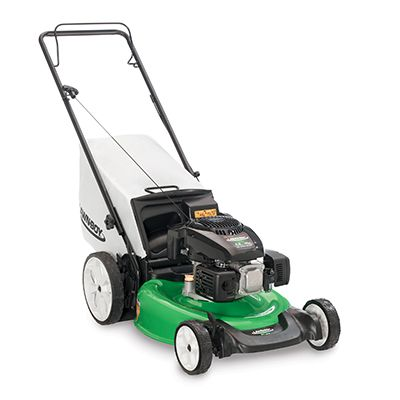 This Lawn Mower From Lawn Boy Has An 11 High Rear Wheel That Makes It Easier To Mow On Rough Or Uneven Terrain Gas Lawn Mower Push Lawn Mower Best Lawn Mower