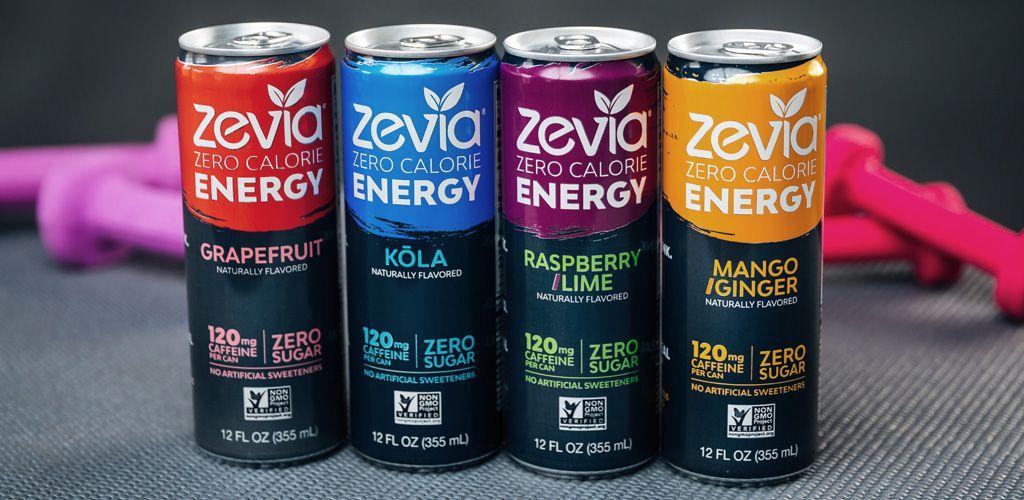 Zevia Energy Flavors Sugar Free Energy Drinks Zero Calorie Drinks Energy Drinks