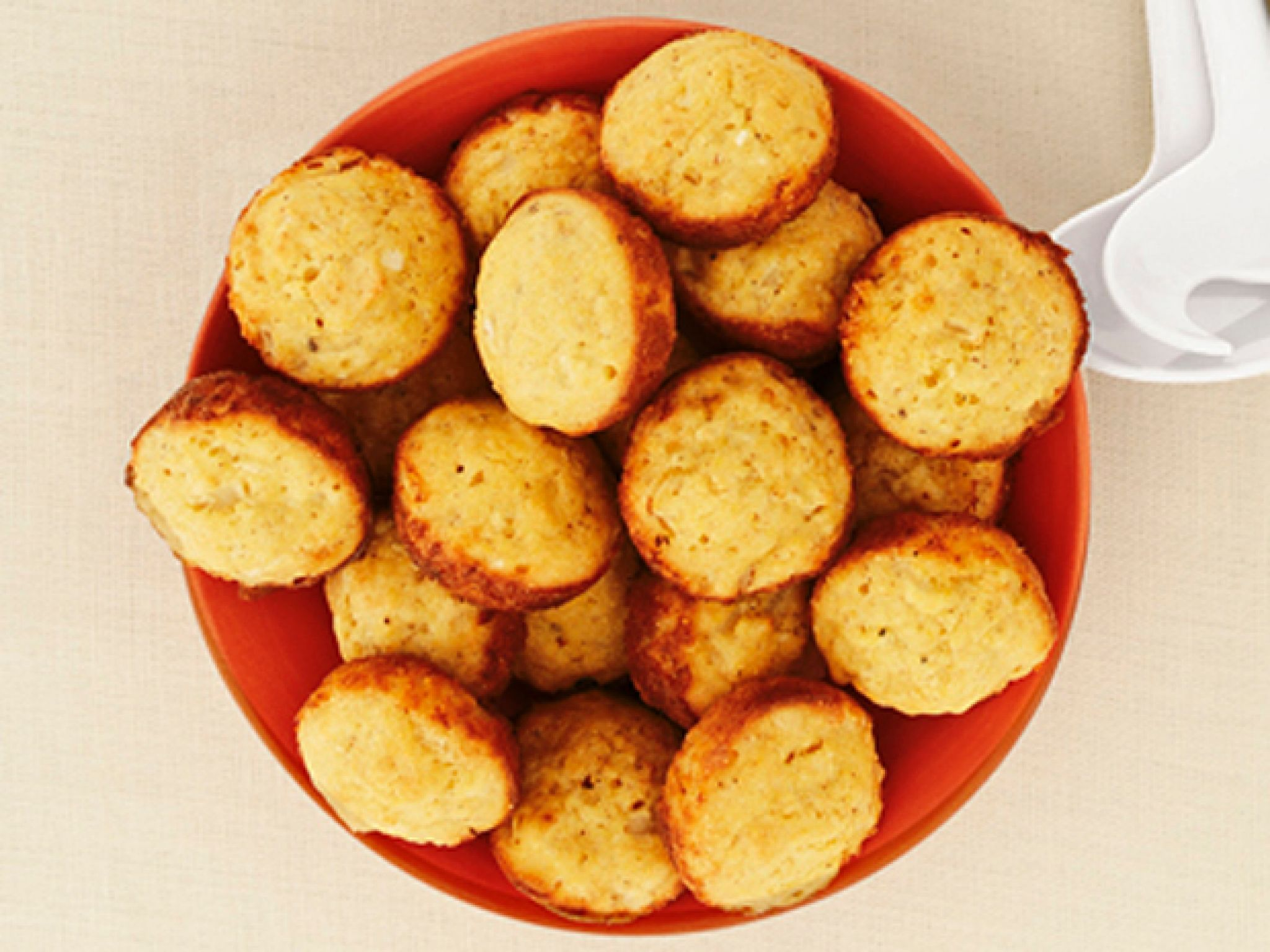 The Deen Brothers Baked Hush Puppies The Deen Brothers Hush Puppies Have All Of The D With Images Baked Hush Puppies Food Network Recipes Hush Puppies Recipe