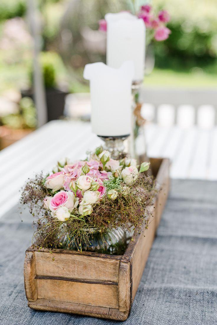 Photo of Romantische Blumendeko und andere Weekendflowers • Pomponetti