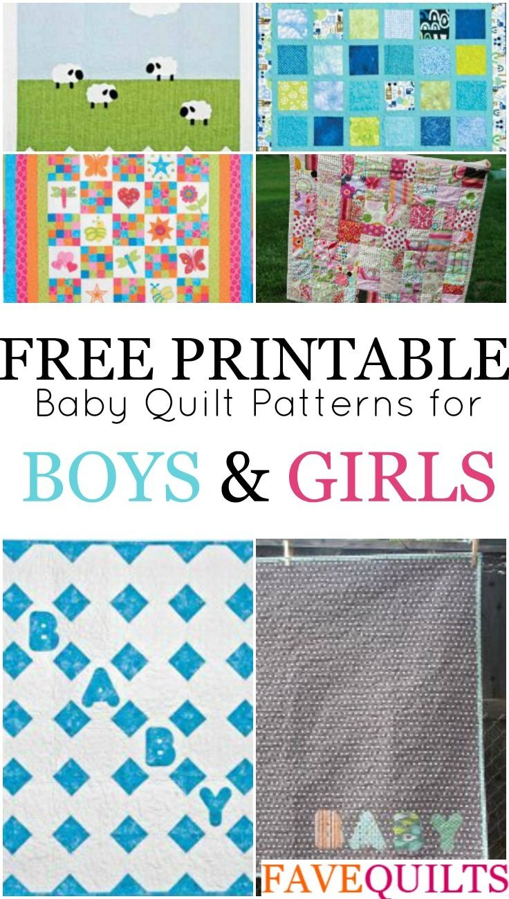 14 Easy Baby Quilt Patterns For Boys And Girls Baby Quilt Patterns