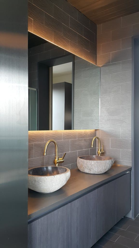 인테리어 디자인 아이디어, 내부 개조 & 리모델링 사진 | Baños, Baño y ...