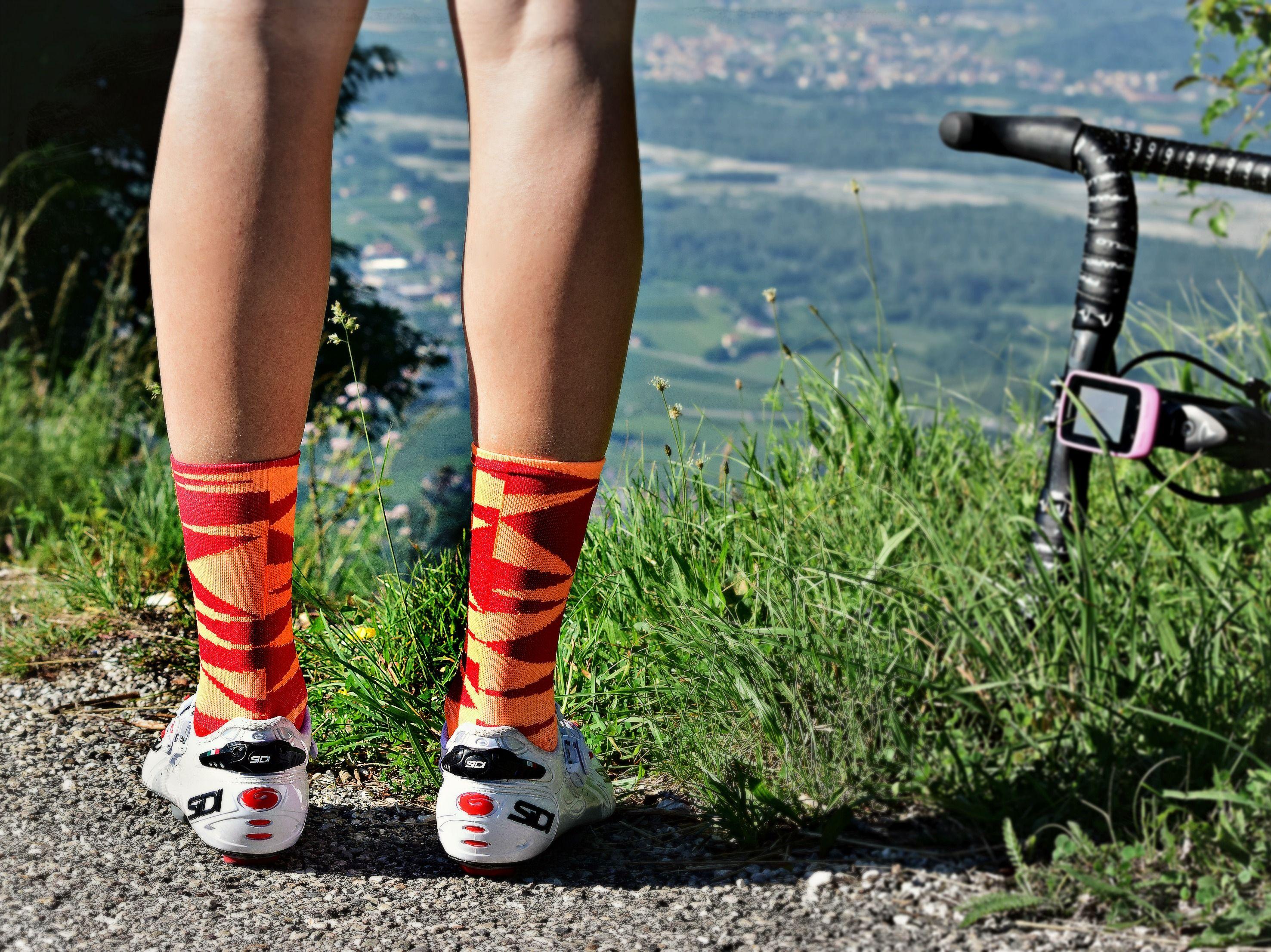 Watch - Cycling stylish socks video