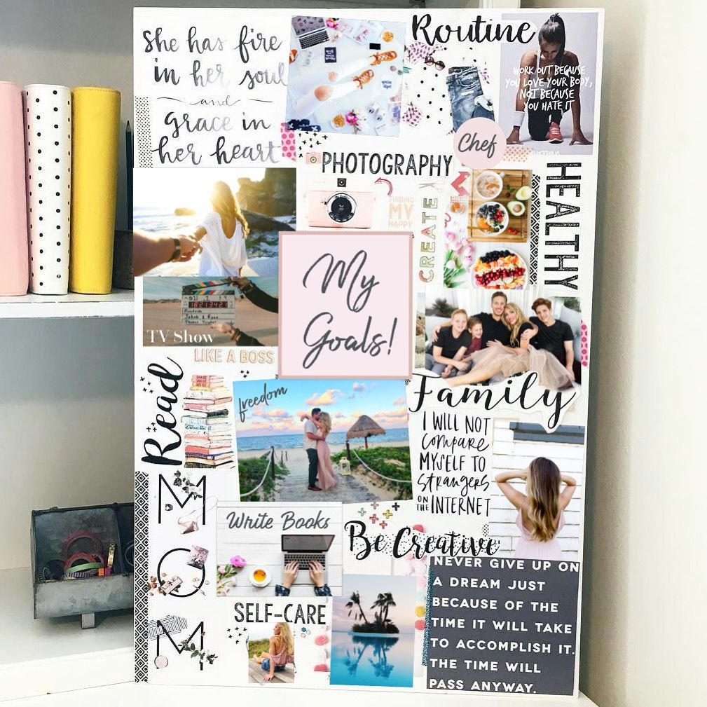 How To Vision Board For Beginners - Fit Body Weight Loss