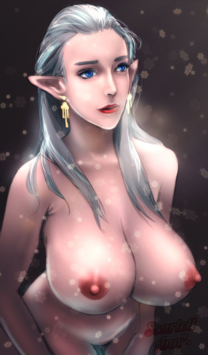 art Nude elf fantasy