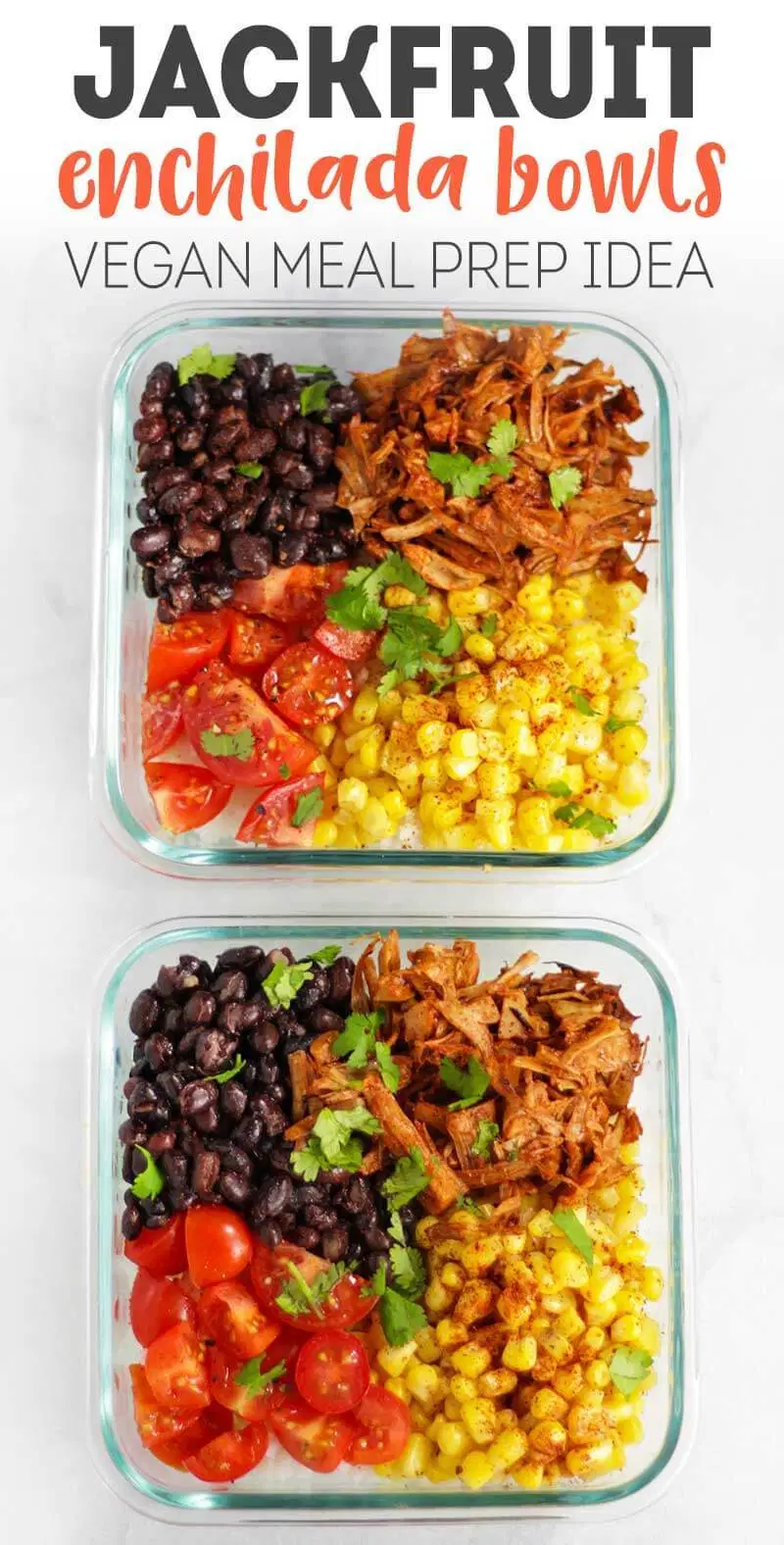 Jackfruit Enchilada Bowls | Karissa's Vegan Kitchen