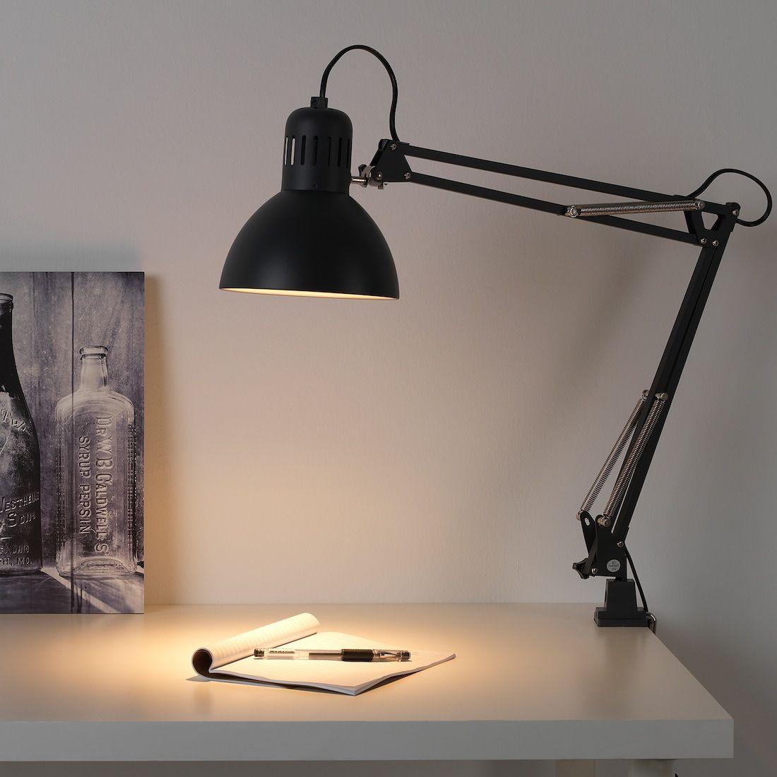 TERTIAL Work lamp with LED bulb, dark gray IKEA in 2020
