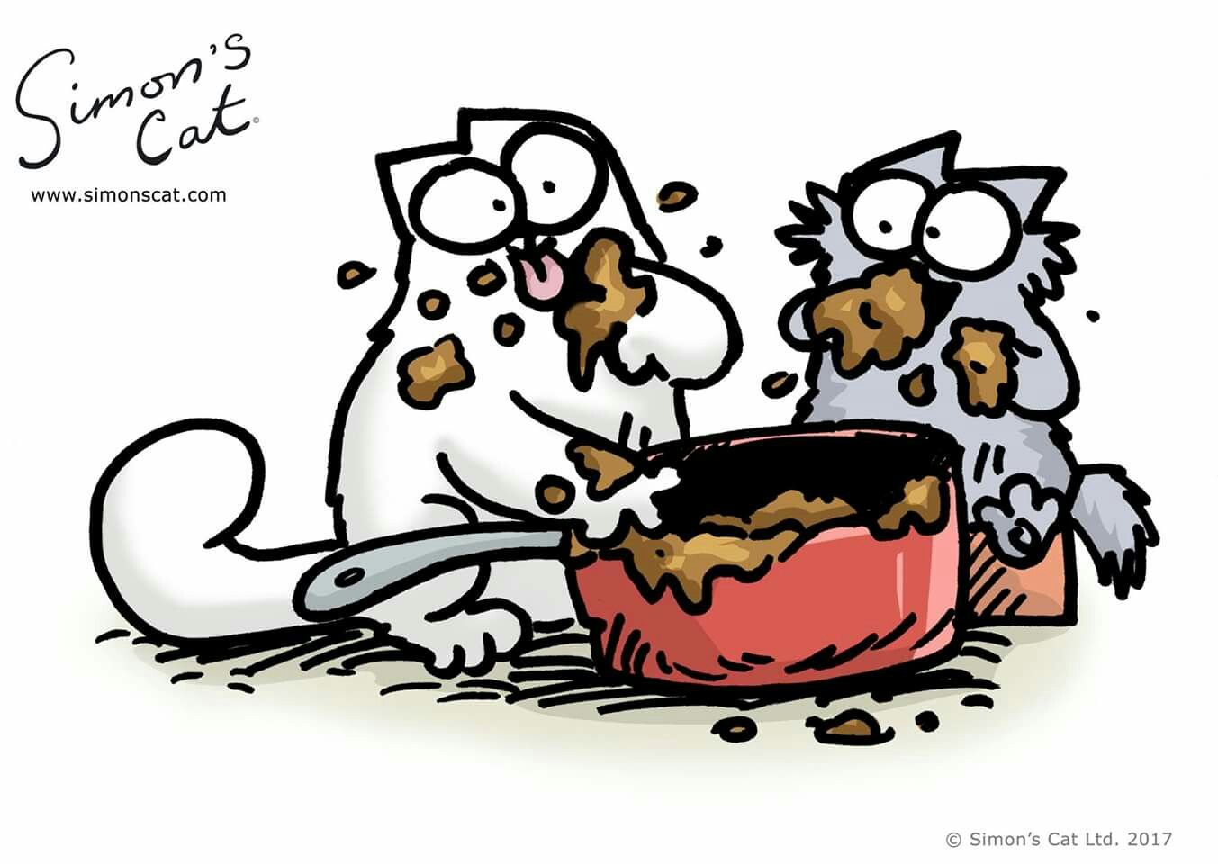 Pin by Hazel Deaner on Simon's Cat Simons cat, Funny
