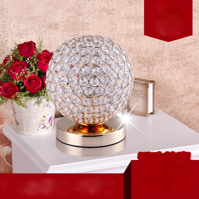 image result for beautiful ball item  crystal table lamps