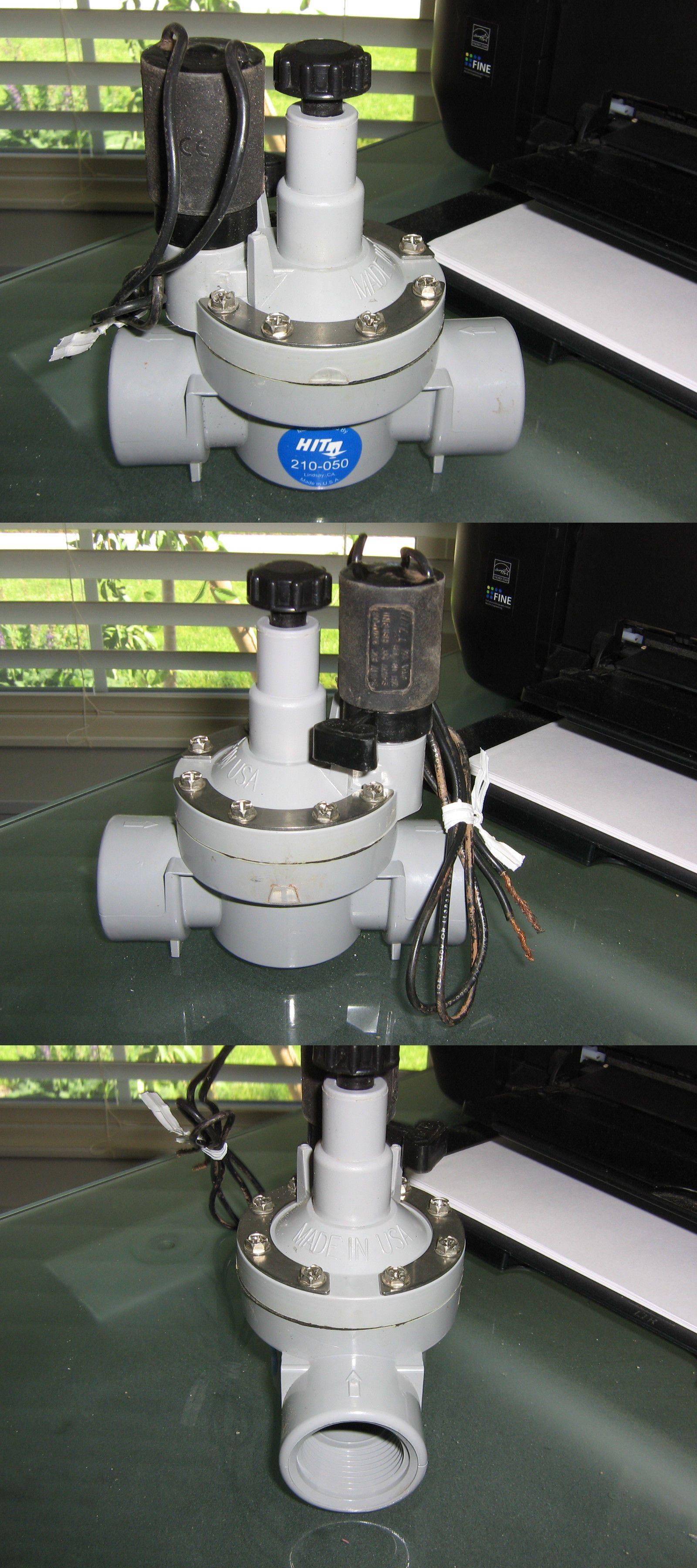 Valves 75673 Hit 210 050 Irrigation Flow Control Solenoid Valve Buy It Now Only 20 On Ebay Irrigation Valve Ebay
