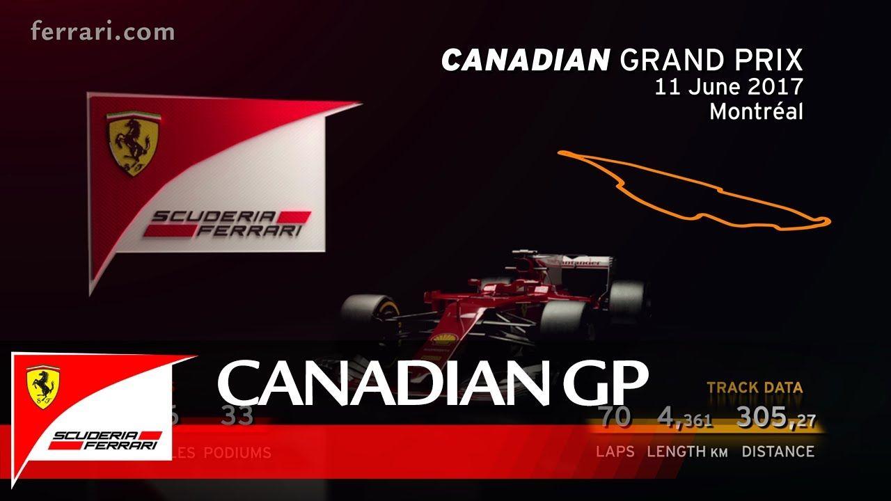 Canadian Grand Prix Preview - Scuderia Ferrari 2017