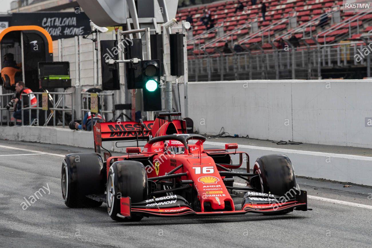 Barcelona Spain 19th February 2019 Charles Leclerc From Monaco