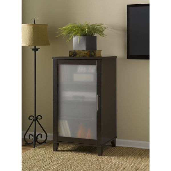 The Bush Somerset Audio Cabinet Is A Classy Way To Store Media