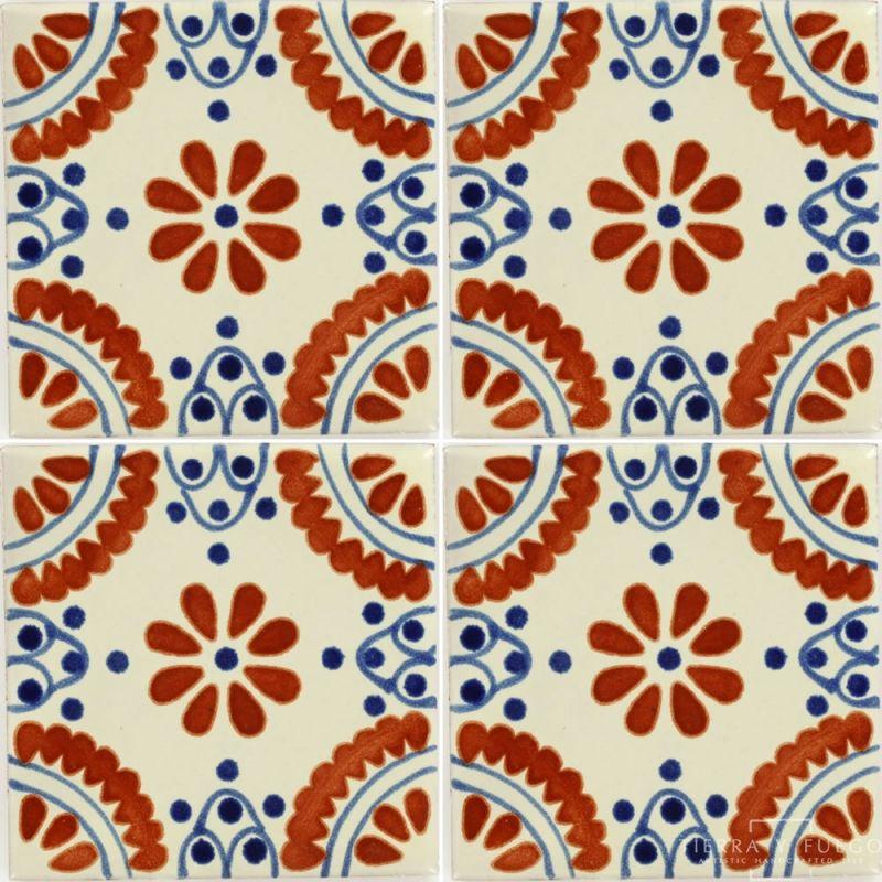 Madrid 2 Talavera Mexican Tile