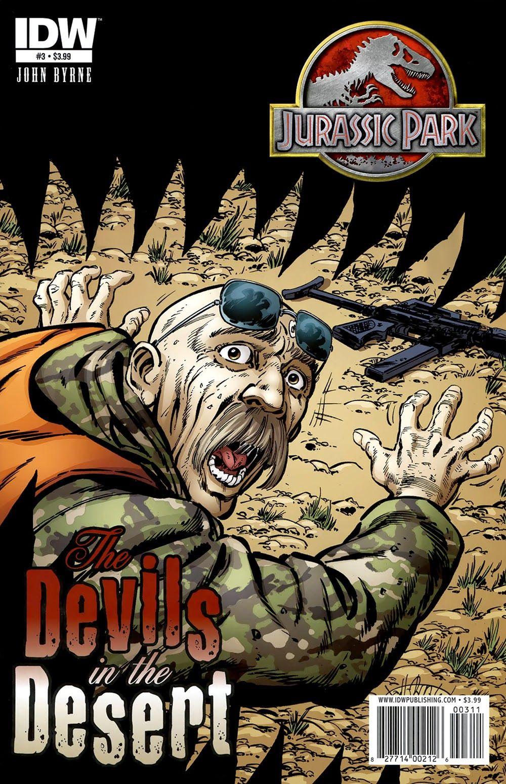 Jurassic Park 008 – The Devils in the Desert 03 | Viewcomic