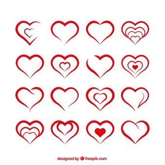 heart-shapes_23-2147514783.jpg (338×338)