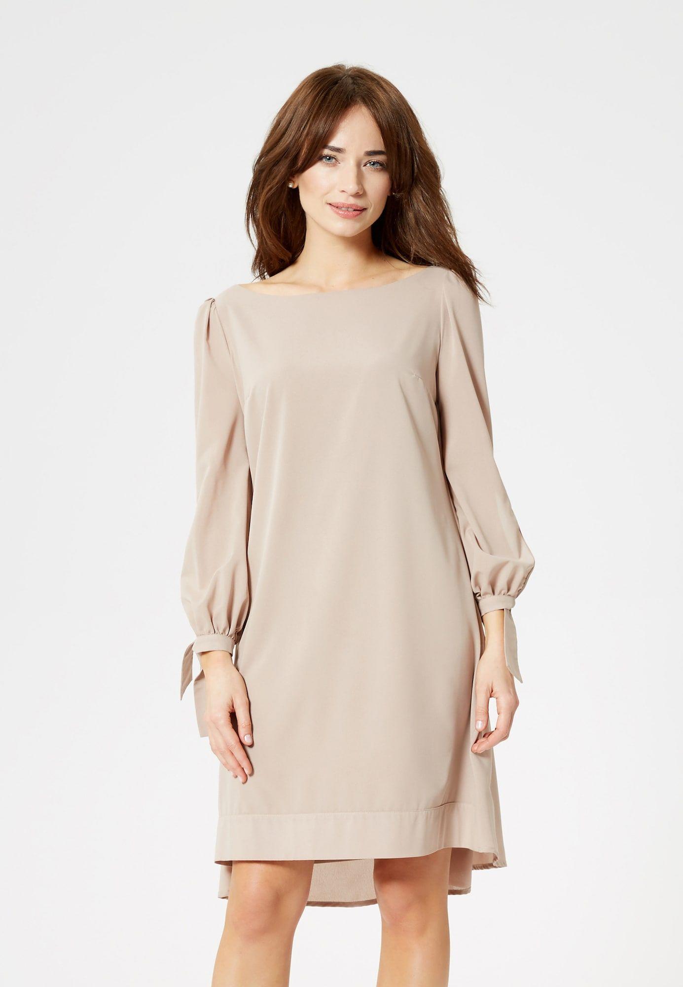 Usha Kleid Damen, Beige, Größe 13  Kleider, Modestil, Damen